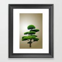 Just A Tree Framed Art Print