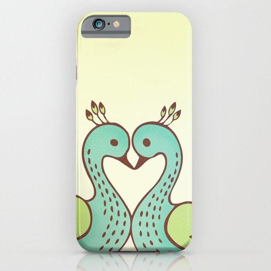 Peacock Love iPhone & iPod Case