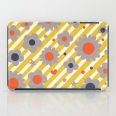 Punk Flower in Primary iPad Case