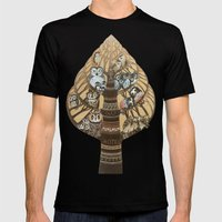 Owls Hotel Mens Fitted Tee Black SMALL
