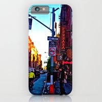 iPhone & iPod Case featuring Sun Goes Down  in the City by Kelsey Pohlmann