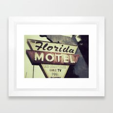 Florida Road Trip Framed Art Print