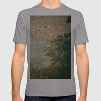 The Birds Mens Fitted Tee Athletic Grey SMALL