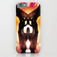 iPhone Cases featuring The Pact by Andre Villanueva