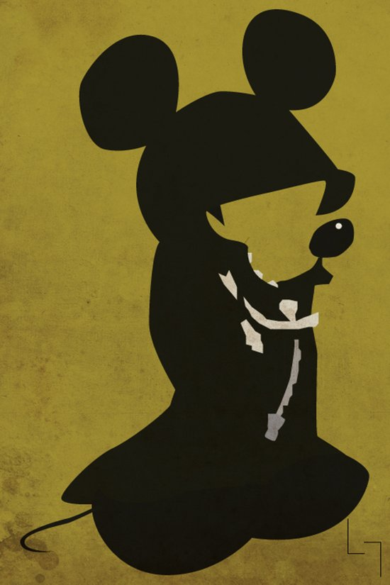 King Mickey Art Print