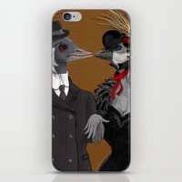 Demoiselle Crane And Gre… iPhone & iPod Skin