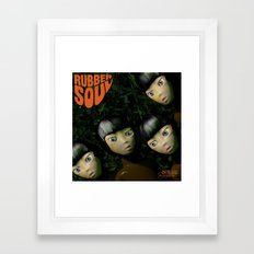 Rubber Soul Framed Art Print