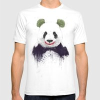 Jokerface Mens Fitted Tee White SMALL