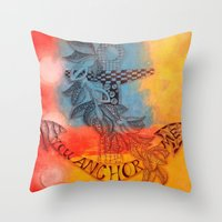 You Anchor Me  Throw Pillow