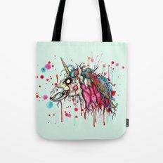 Zombie Unicorn Tote Bag