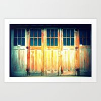 Multiple Doors Art Print