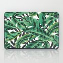 Tropical Glam Banana Leaf Print iPad Case