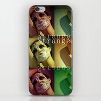 Strange Model iPhone & iPod Skin