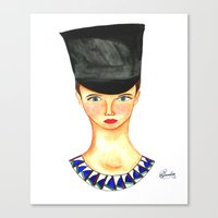 Soldier Girl Canvas Print