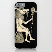 Creature Holding Sceptre iPhone 6 Slim Case