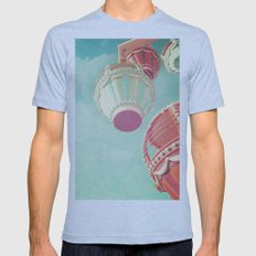 Carnival  Mens Fitted Tee Athletic Blue SMALL