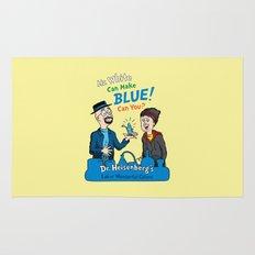 Mr. White Can Make Blue! Rug