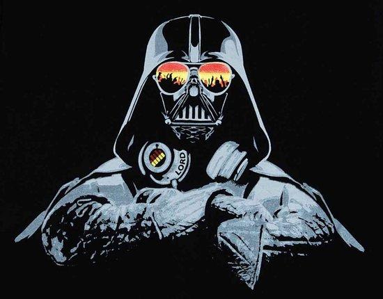 DJ Darth Vader Canvas Print