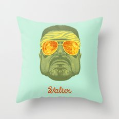 The Lebowski Series: Walter Throw Pillow