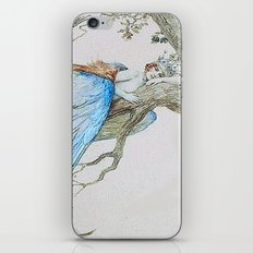 Feather fairy by Sergey Sergeevich 1912 iPhone & iPod Skin