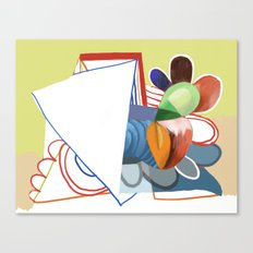 Abstract Painting 7742 Canvas Print