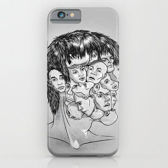Face Lock BW iPhone & iPod Case