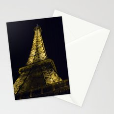 Eiffel Tower @ Night Stationery Cards