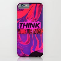 THINK VIOLENCE  iPhone 6 Slim Case