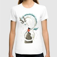 dragon T-shirts featuring Dragon Spirit by Freeminds