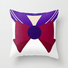 Sailor Saturn Bow Throw Pillow