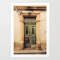 Nicosia Doorway Art Print
