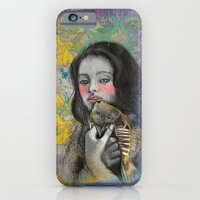 iPhone & iPod Case featuring One wish Goldfish by Anna Tarach