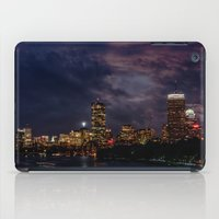 Boston at night  iPad Case