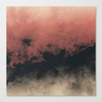Zero Visibility Dust Canvas Print