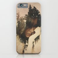iPhone & iPod Case featuring Lost In Thought by Davies Babies