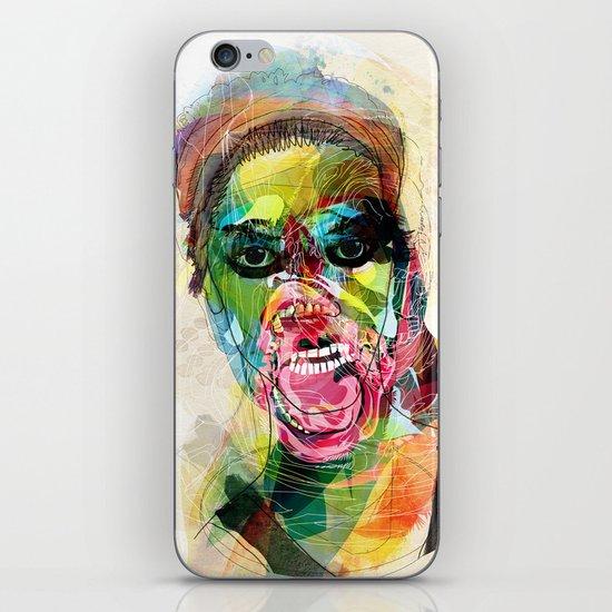 The human beast iPhone & iPod Skin