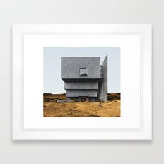 Misplaced Series - Breuer Building Framed Art Print