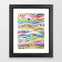 Psycake C Framed Art Print