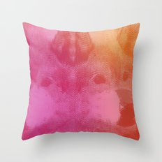 WOLFACE Throw Pillow