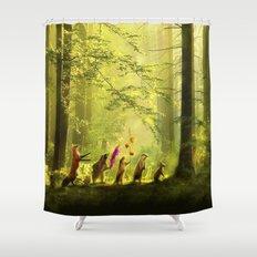 Secret Parade Shower Curtain