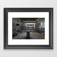 Morgue Framed Art Print