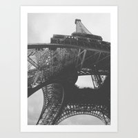 Radio Tower Art Print
