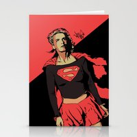 Girl Of Steel Stationery Cards