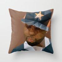 J DILLA Throw Pillow