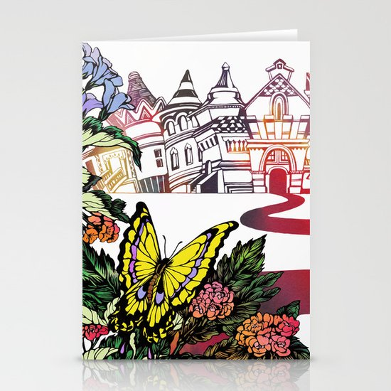 Summer Cycling Stationery Card