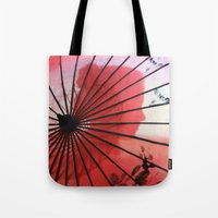 RED CHINA Tote Bag