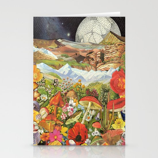 Shrooms Stationery Card