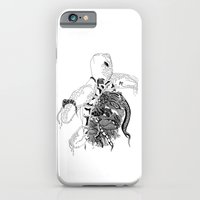 iPhone & iPod Case featuring Inking Turtle by Alexis Kadonsky
