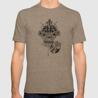 Roots Mens Fitted Tee Tri-Coffee SMALL
