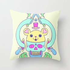 triskaidekaphilia Throw Pillow